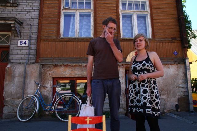 Madle dans son quartier, New World, à Tallinn