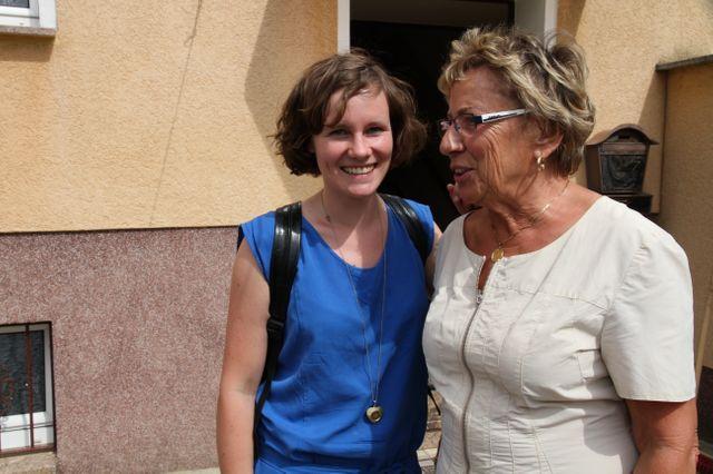 Klara et sa grand mère, Berlin