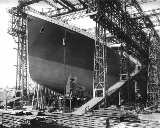Construction Titanic