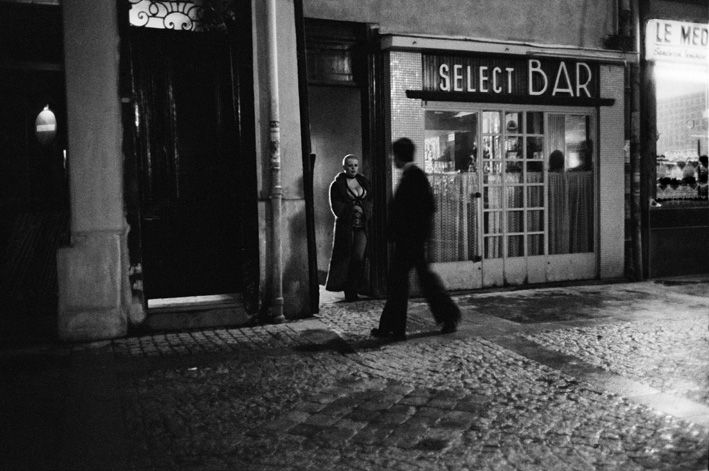 Rue des Lombards, Paris, 1976-1977