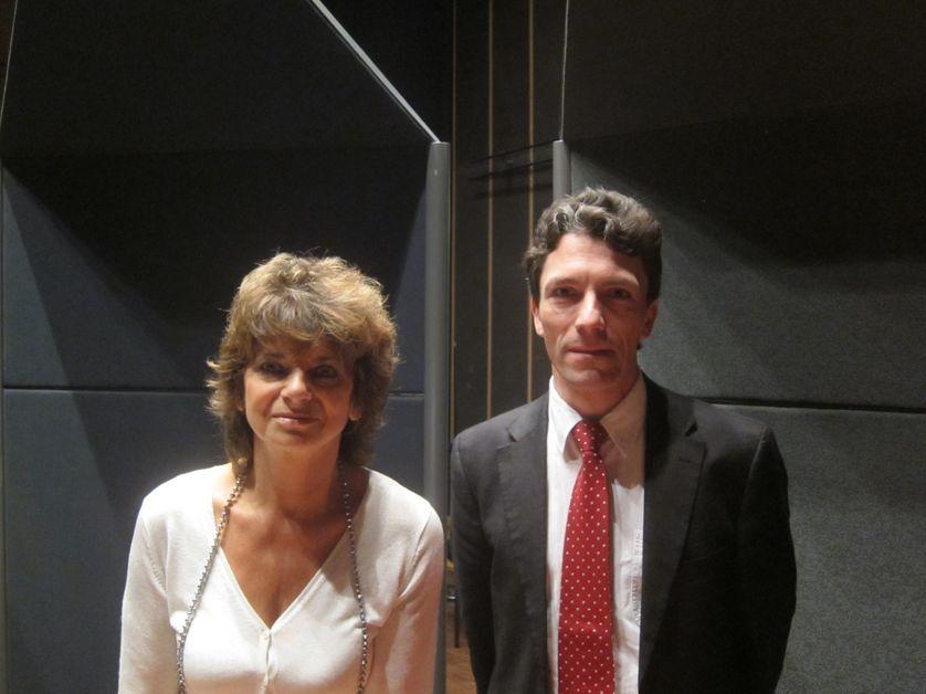 Anne-Catherine Lochard et le Juge d'Intruction Marc Trévidic