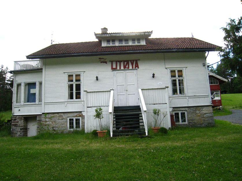 la maison d'accueil de l'île d'Utoya