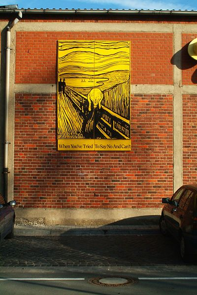 Reproduction du Cri de Munch par Rob Scholte reprise par Siegfried Neuenhausen