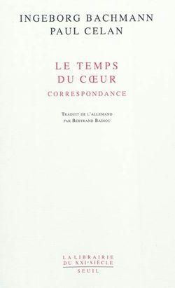 Le temps du coeur : correspondance (1948-1967)