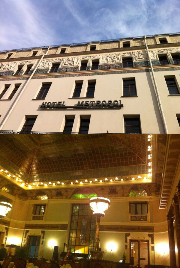 L'hôtel Metropol à Moscou