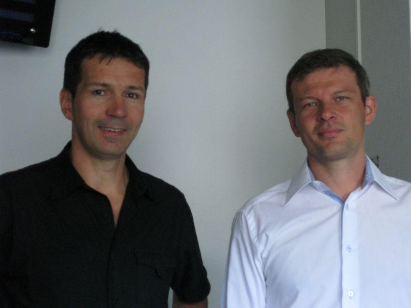 Guillaume Balas et Sylvain Grandserre