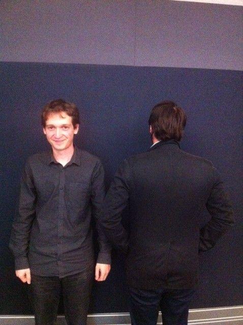 Vincent Venin et Julien J