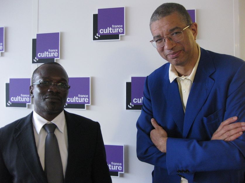 Oumar Keïta et Lionel Zinsou