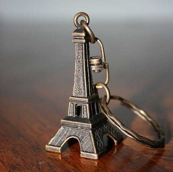 Porte clef de la Tour Eiffel