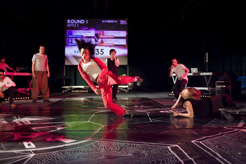 Speedbattle#2, Danseurs : Hun-Mok Jung & Sabine Molenaar (Peeping Tom)