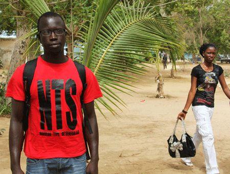 Adama, étudiant à Dakar