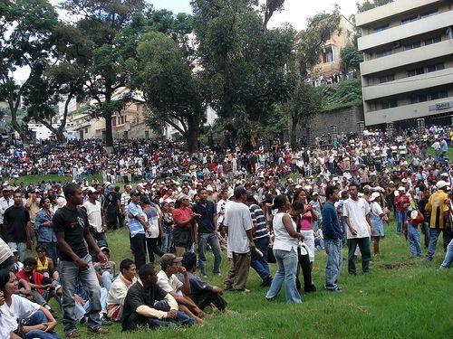 Manifestation contre Andry Rajoelina