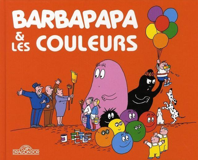 Barbapapa et les couleurs