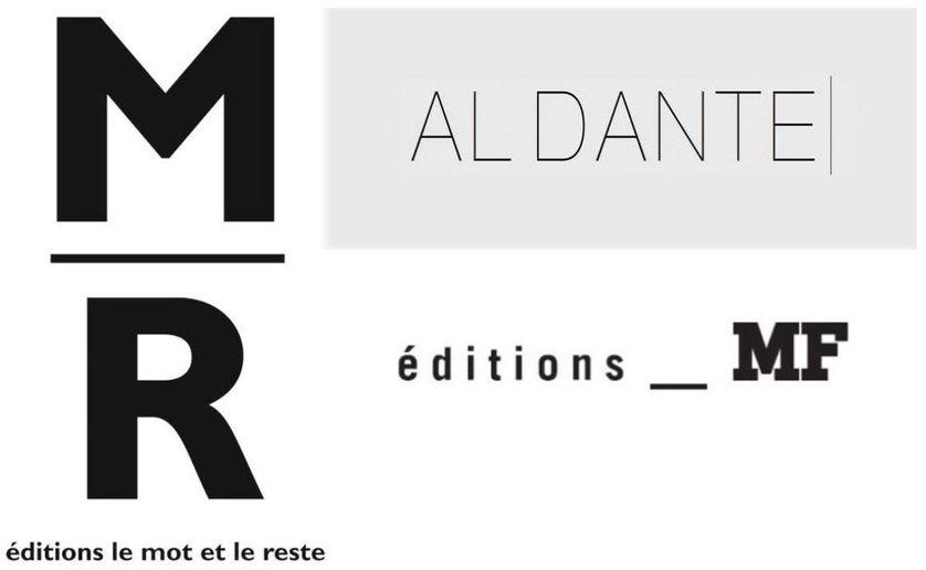 Logos éditions Al Dante, Editions MF et Le Mot et Le Reste