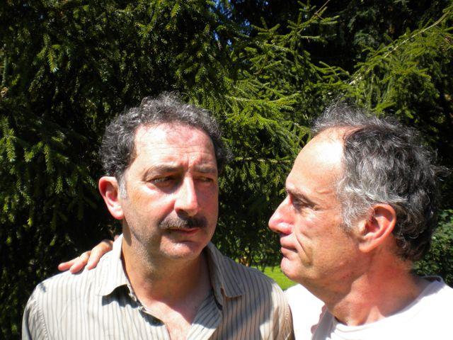 Dens Cheissoux et François Morel
