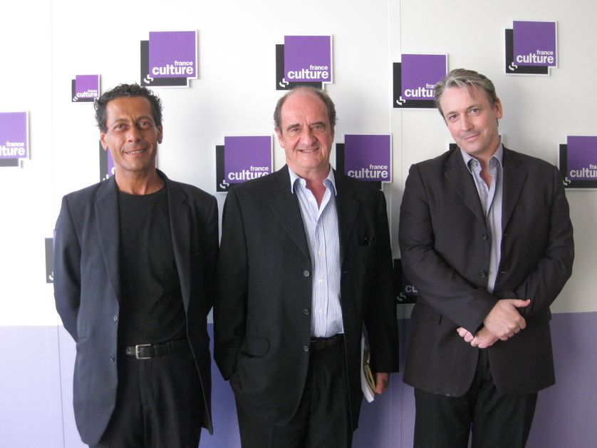 Philippe Chantepie, Pierre Lescure, Philippe Axel