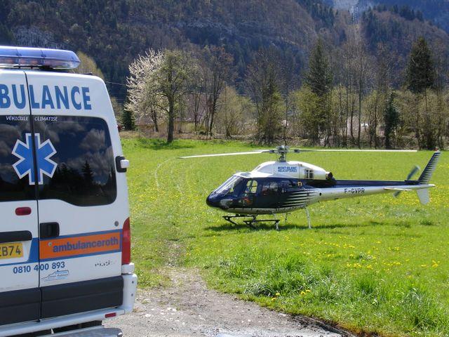 rapatriement avec les ambulances roth
