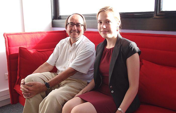 Jacques Portes et Alexandra de Hoop Scheffer