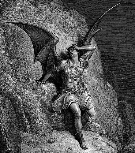 Gustave Doré, Depiction of Satan