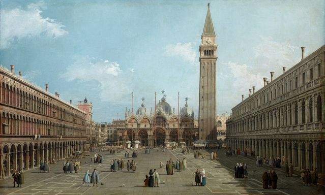 Canaletto - La Place Saint Marc - 1740 - Paris, Musée Jacquemart-André – Institut de France