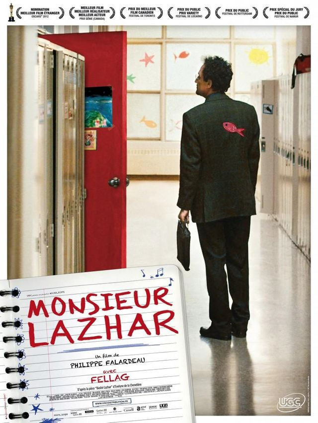 Monsieur Lazhar réalisé par Philippe Falardeau