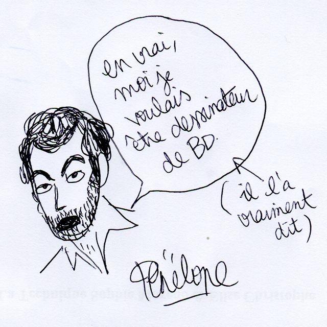 Autographe de Penelope Bagieu à Ben