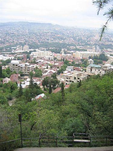 Tbilissi, capitale de la Géorgie, juin 2005