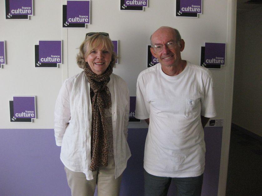Alice Debonnet-Lambert et le Pr. Paul Avan