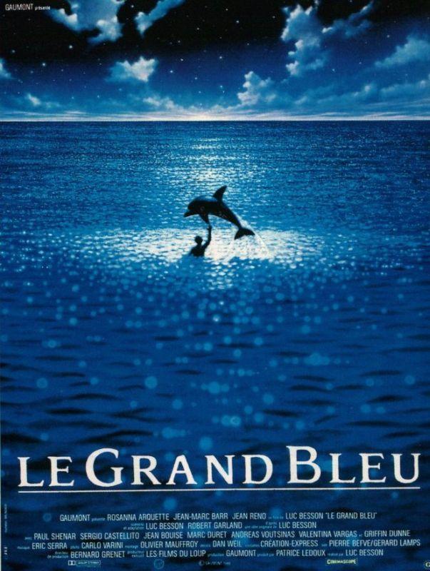 Affiche du film : Le Grand Bleu, de Luc Besson