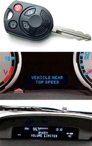 MyKey permet de brider la voiture au niveau du kilomètrage mais aussi du volume de la musique
