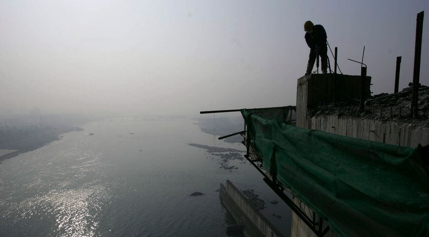 Le barrage de Danjiangkou
