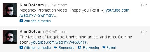Les tweets de Kim DotCom