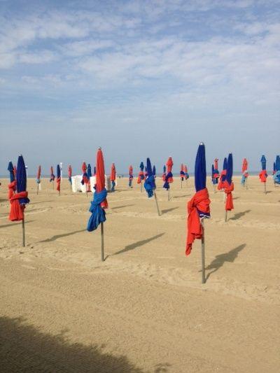 La plage de Deauville