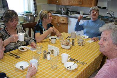 Un petit déjeuner à la Maison Carpe Diem