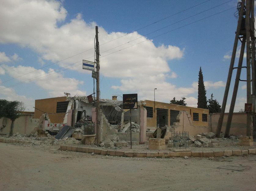 Ecole bombardée par les avions de Bachar el-Assad 2 jours après la rentrée
