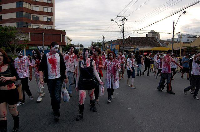 Zombie Walk au Brésil