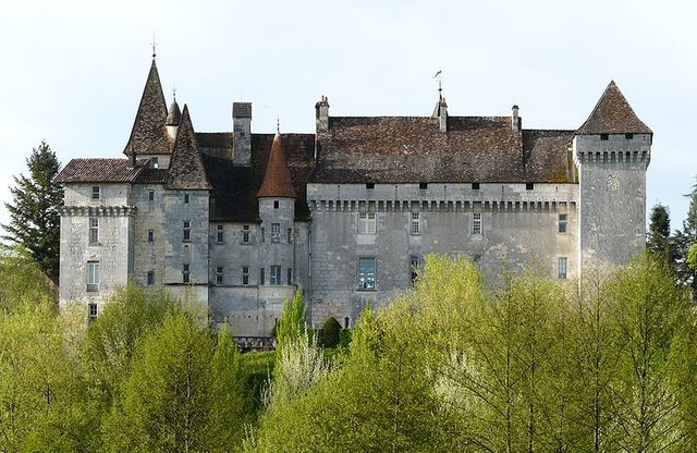 Vue de Chateau l'évêque