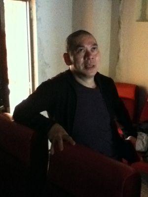 Le cinéaste Tsai Ming Liang