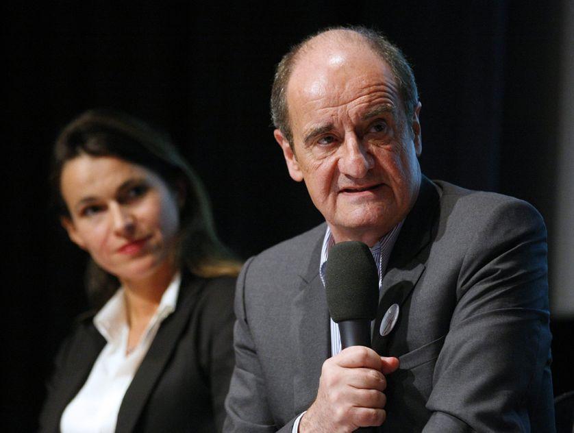 Aurélie Filippetti et Pierre Lescure à la présentation de la mission sur les contenus numériques et la politique culturelle