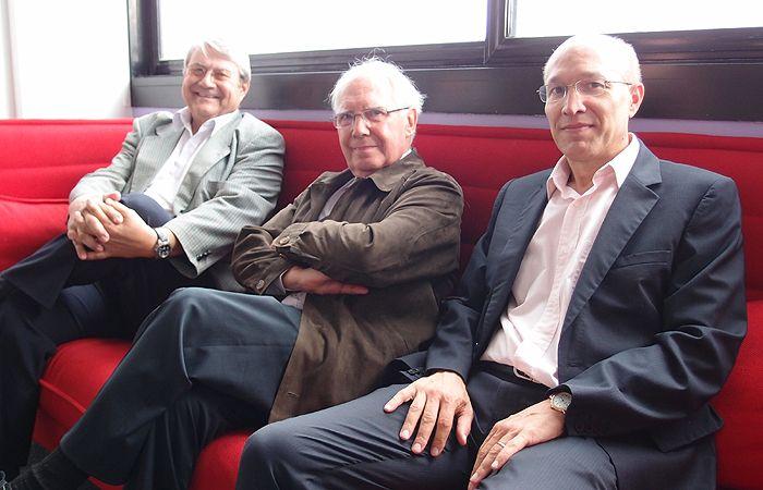 Jean-Pierre Gaillard, André Babeau et Christian Chavagneux
