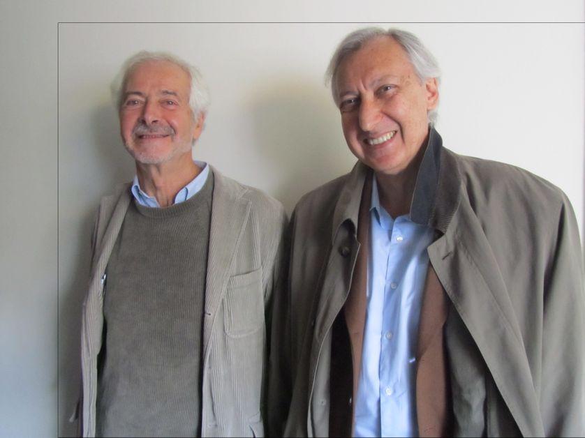 Charles Urjewicz et Othar Zourabichvili