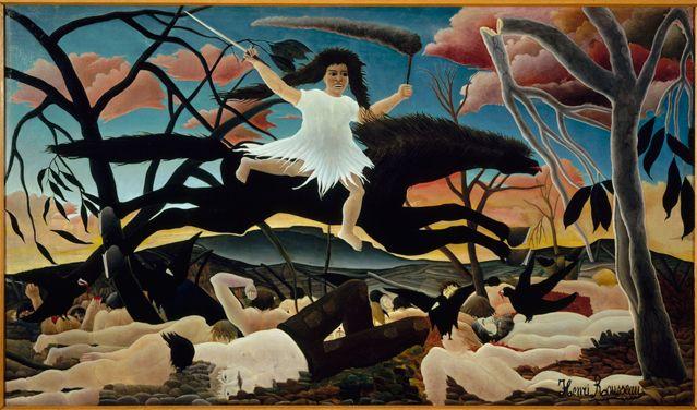 Douanier Rousseau - La Guerre, 1893-1894 Huile sur toile Musée d'Orsay, Paris