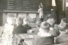 Ecole des années 50