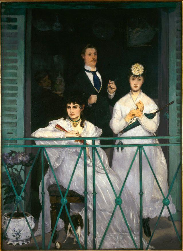 Le balcon - Edouard Manet
