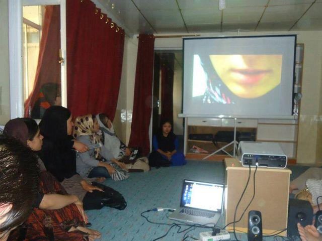 Première projection du film à Kaboul