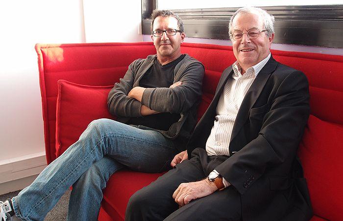 Serge Cimino et Marc Tessier
