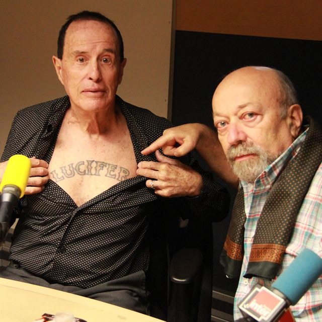 Kenneth Anger et Michel Zlotowski