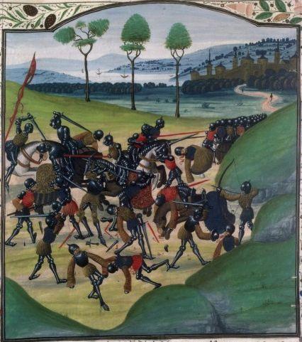 Bataille de Poitiers en 1356