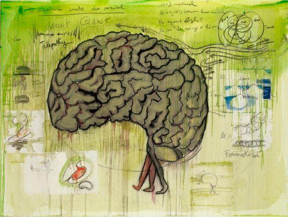 Fabrice Hyber, Cerveau rapide