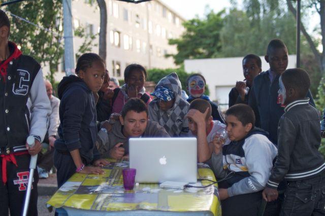 Médiation avec les jeunes à Clichy-sous-Bois